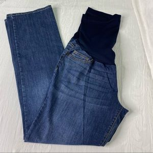 Liz Lange Maternity for Target full panel jeans 10